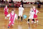 Decathlon halový fotbalový okresní přebor mladších elévů v Předměřichích nad Labem.