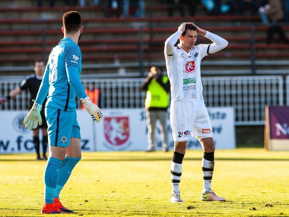 Fotbalová ePojisteni.cz 1. liga: FC Hradec Králové - AC Sparta Praha.