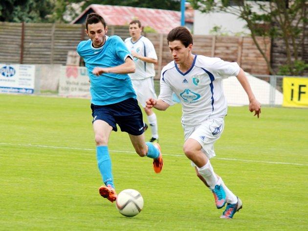 Krajský přebor ve fotbale: RMSK Cidlina Nový Bydžov - FK Chlumec nad Cidlinou.