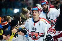 Hokejová extraliga: Mountfield HK - HC Dynamo Pardubice.