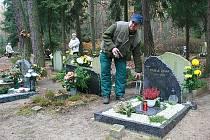 Dušičky na Lesním hřbitově