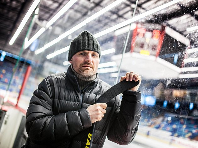 Bývalý hokejista Josef Marha.