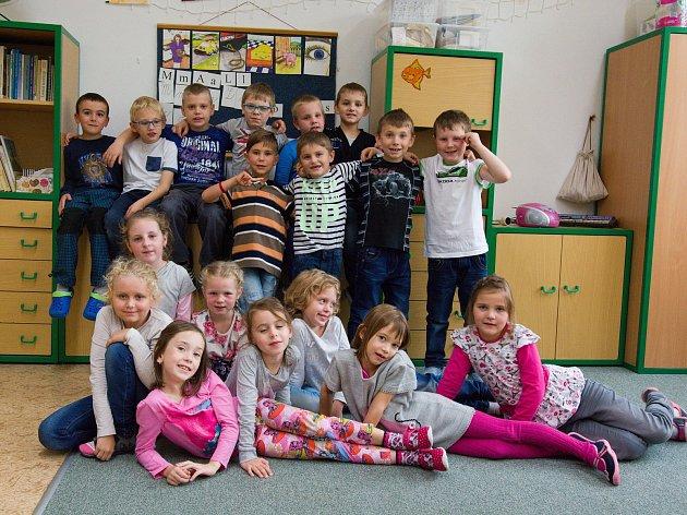 Masarykova jubilejní základní škola, Černilov - žáci třídy 1.A.