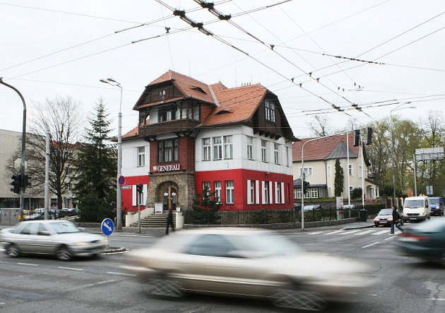 Vila Anička v  Hradci Králové