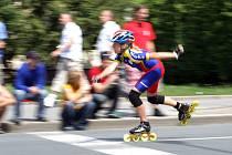 Největší středoevropský seriál závodů na in-line bruslích pro veřejnost i elitní sportovce Nestlé LifeInLine Tour 2009 se představil v Hradci Králové.