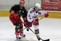 I. hokejová liga: Královští lvi Hradec Králové - HC Rebel Havlíčkův Brod.