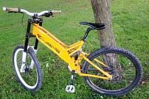 Bicykl nezodpovědného majitele.