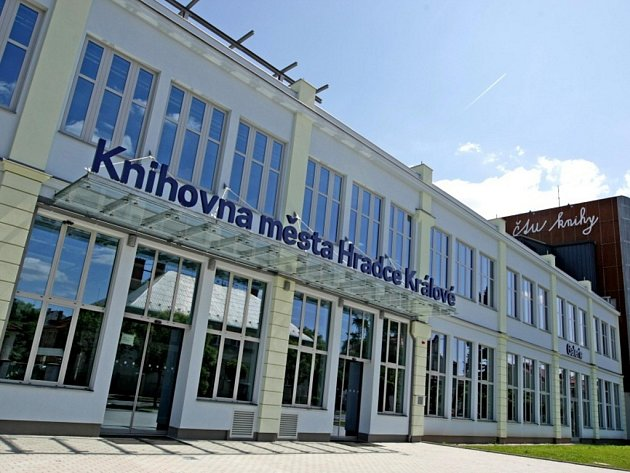 Knihovna města Hradce Králové.