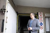 Podzemní kryt v královéhradeckém Aldisu pro případ jaderné hrozby.