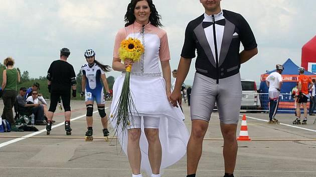 Alena Urminská a Pavel Polášek si pro svůj svatební den vybrali druhý díl největšího středoevropského seriálu v in-line bruslení LIGLASS LifeInLine Tour.