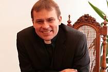 Tomáš Holub, ředitel diecézní kurie.