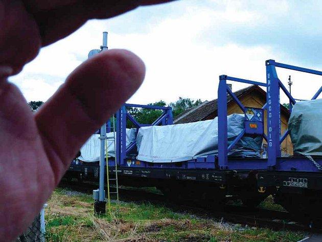 Vlak s nebezpečným nákladem