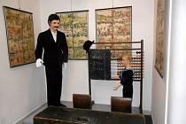 Výstava o prvňáčcích s názvem Hurá do školy! v královéhradeckém Muzeu východních Čech.