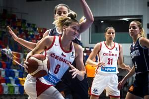 České basketbalistky vstupují do mistrovství Evropy.