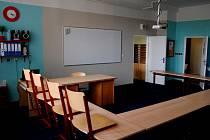 Nová učebna hradecké Sion High School.