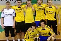 Tým FC Boca Králíky, vítěz futsalového turnaje AC Zeppelin Cup 2013.