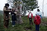 Pohřební průvod v Archeoparku pravěku Všestary
