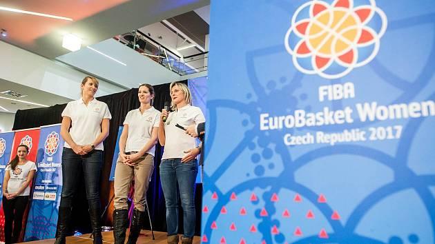 Kampaň k mistrovství Evropy v basketbalu žen v Hradci Králové.