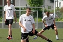 Příprava fotbalistů FC Hradec Králové na novou sezonu.