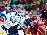 Generali play off hokejové Tipsport extraligy - 5. čtvrtfinále: Mountfield HK - Bílí Tygři Liberec.