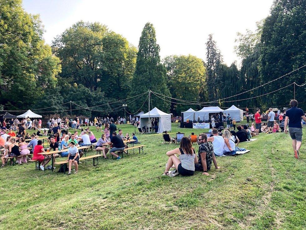 Summer Night Food festival Hradec Králové.