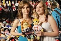 Z akce Miss panenka v Kongresovém centru Aldis v Hradci Králové.