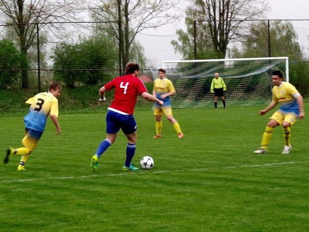 Krajská fotbalová I. B třída, skupina B: TJ Slavoj Předměřice nad Labem - TJ Baník Vamberk.
