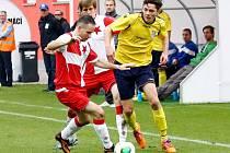 Krajský přebor ve fotbale: FC Slavia Hradec Králové - MFK Nové Město nad Metují.
