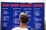 Festival Hip Hop Kemp v Hradci Králové.