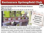 Restaurace Springfield Club