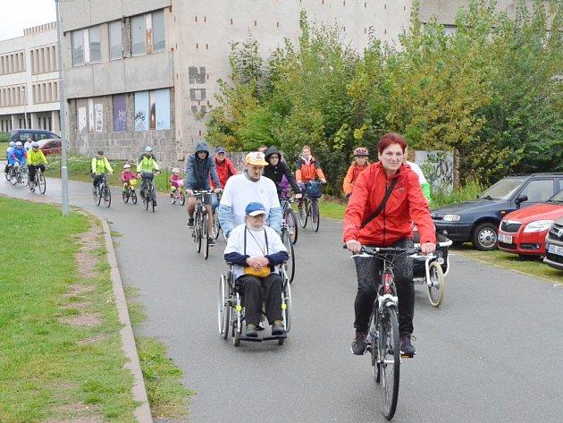 Město na kolech - tradiční akce v centru Hradce Králové.