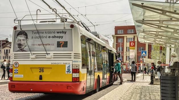 MHD v Hradci Králové.