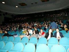 Program Naslepo v královéhradeckém kině Bio Central.