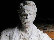 Pomník na počest bývalého starosty Františka Ulricha.
