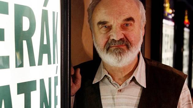 Zdeněk Svěrák při premiéře