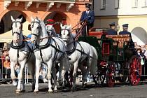 Svatováclavská přehlídka koní.