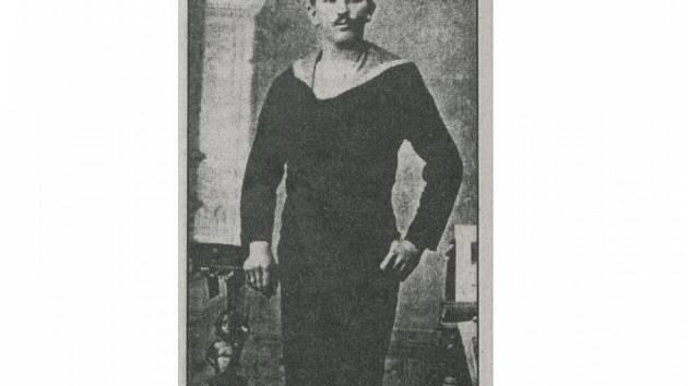 Legionář Bohumil Brkl