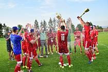 Finále fotbalového Poháru hejtmana Královéhradeckého kraje: SK Libčany - TJ Slovan Broumov.