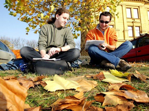 Počasí 5. listopadu nijak nepřipomínalo druhou půli podzimu