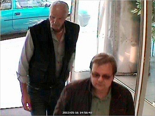 Pátrání policie po dvou mužích neznámé totožnosti.