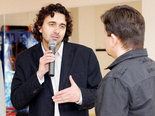 Zdeněk Zolman, vedoucí tanečníků T-Bass.