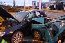 Dopravní nehoda - Hradec Králové, Brněnská