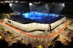 Budoucí hradecká fotbalová aréna