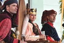 Slavnosti královny Elišky v Hradci Králové v sobotu 5. srpna 2009.