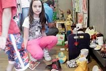 """Výstava dětských prací na téma """"Obyčejné věci"""" v hradecké Galerii U Přívozu."""