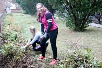 Žáci z domova mládeže a 72 hodin: Pustíme se do zahrady...