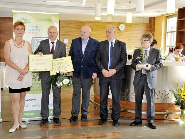 Obec Malá Úpa získala titul absolutní vítěz.
