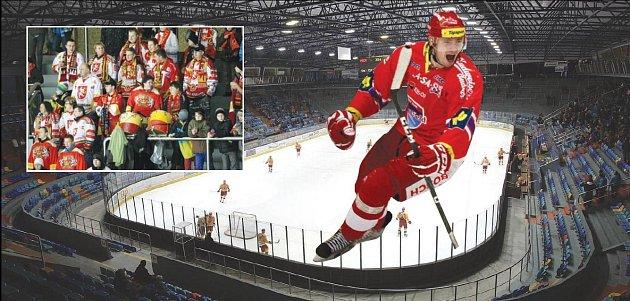 ŠPIČKOVÝ HOKEJ se bude vpříští sezoně hrát na zimním stadionu vHradci Králové, kde bude slavit branky iRastislav Dej.