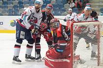Hokejová extraliga: Piráti Chomutov - Mountfield HK.