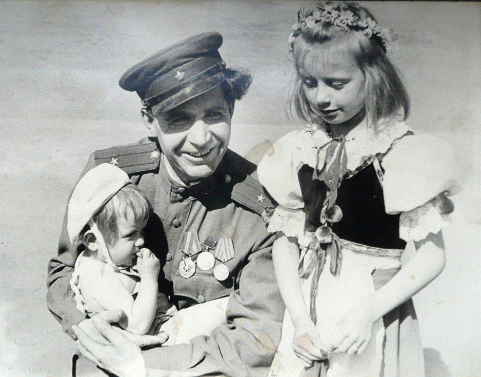 Vzpomínky na události těsně po skončení 2. světové války.